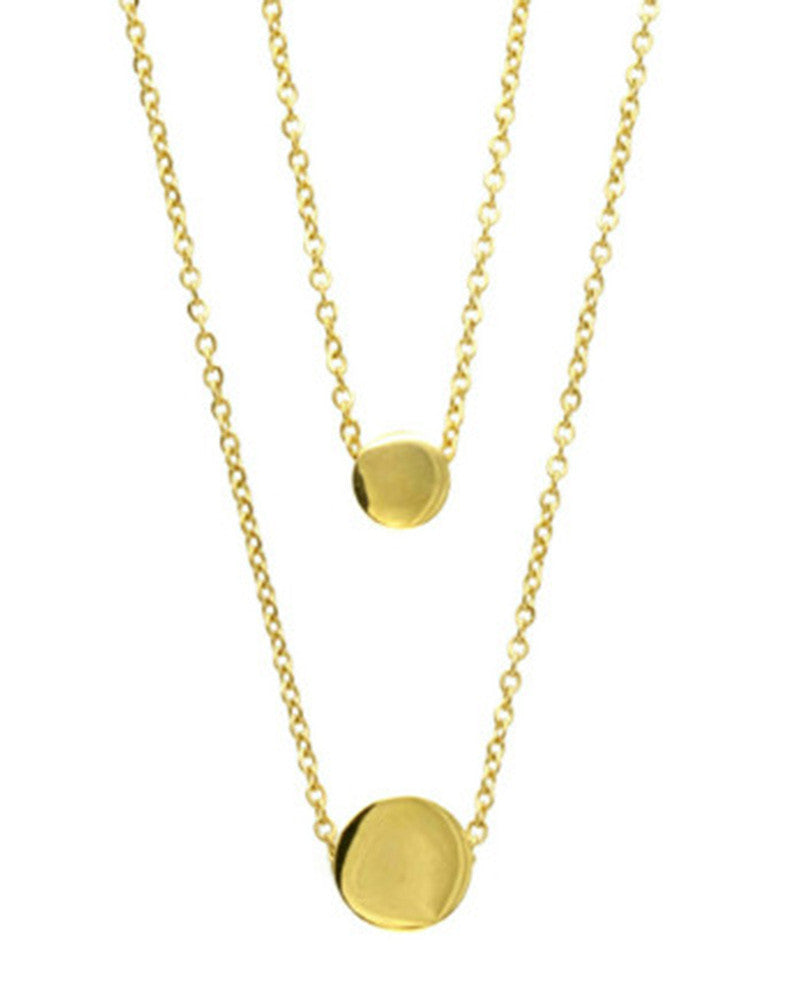 gold hanging jewelry necklace for women designer ellie vail