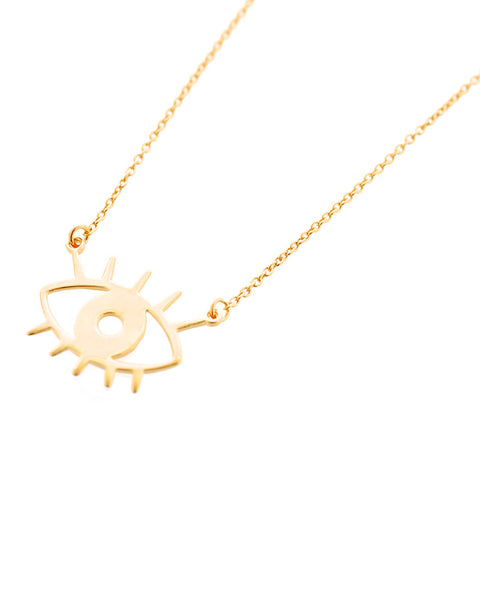 emoji eye necklace