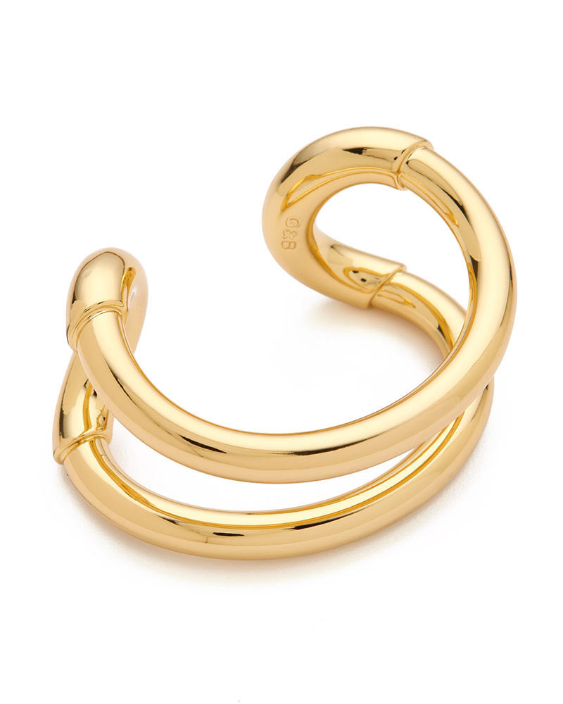Giles Brother Gold Cortina Cuff