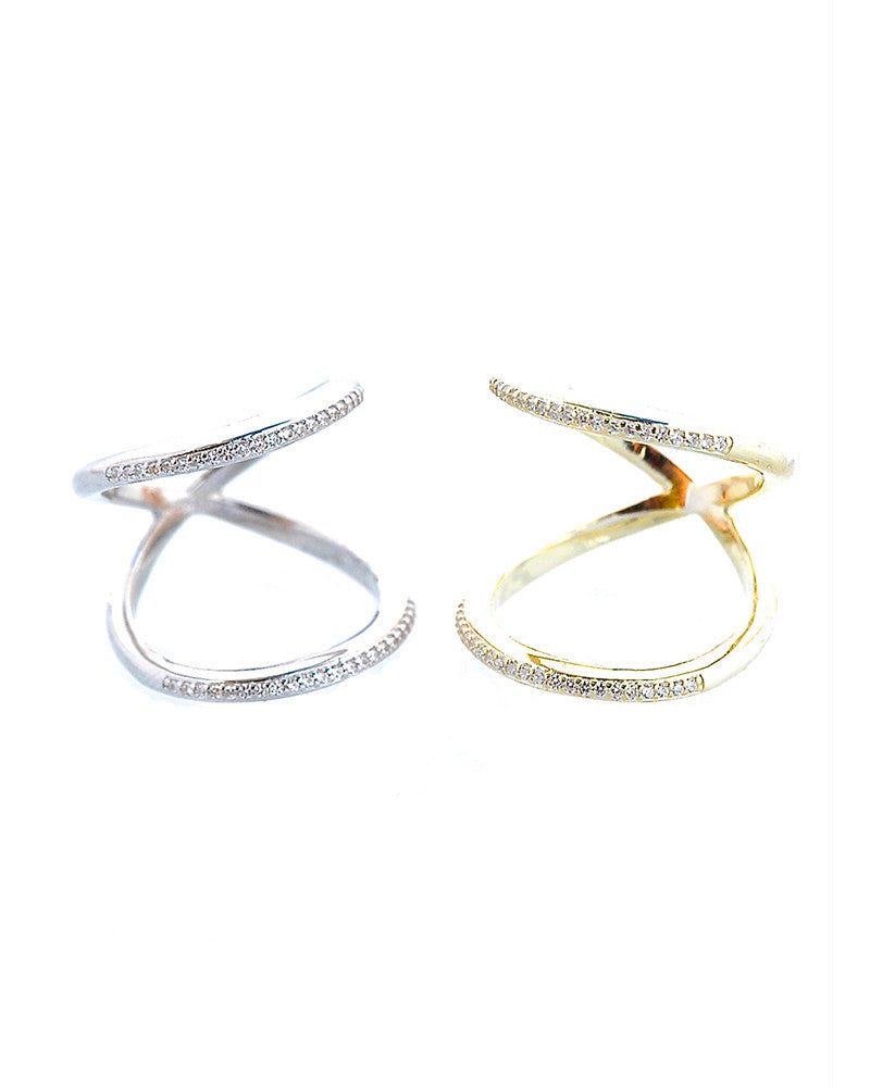 Gina Cueto Allie Pave Rings