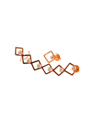 Gina Cueto The Bordeaux Earcuff