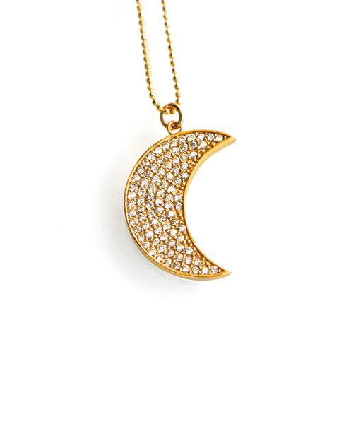 Gina Cueto Golden Moon Necklace