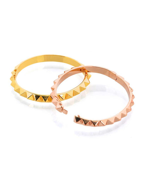 Gina Cueto Spiked Bangle Bracelets