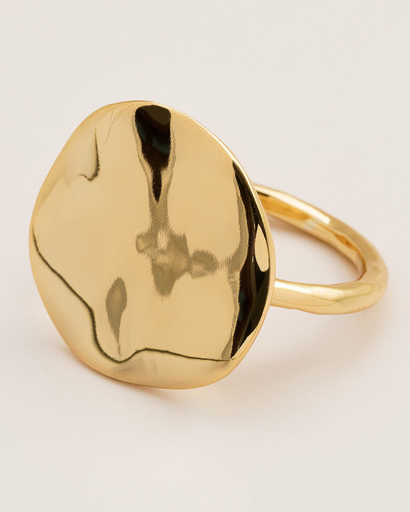 large gold ring gorjana womens jewelry designer
