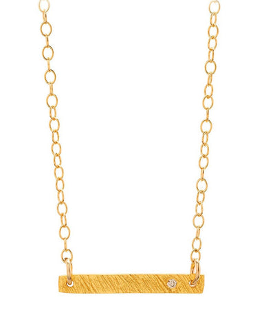 Gorjana Knox Diamond Necklace