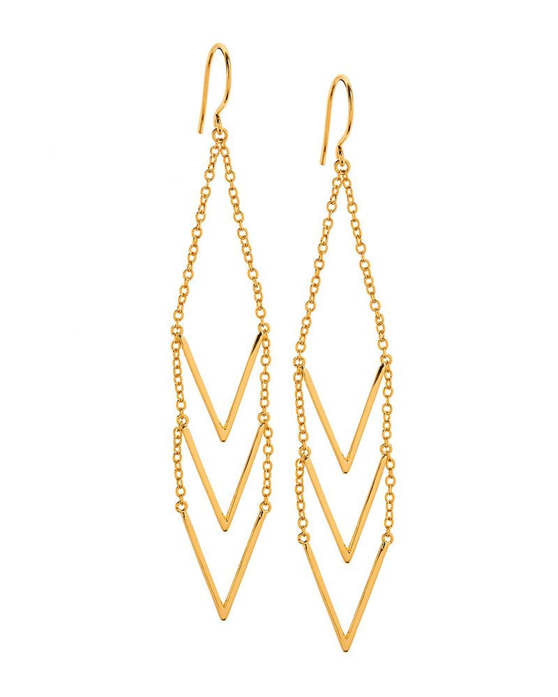 Gorjana Morrison Gold Dangling Earrings