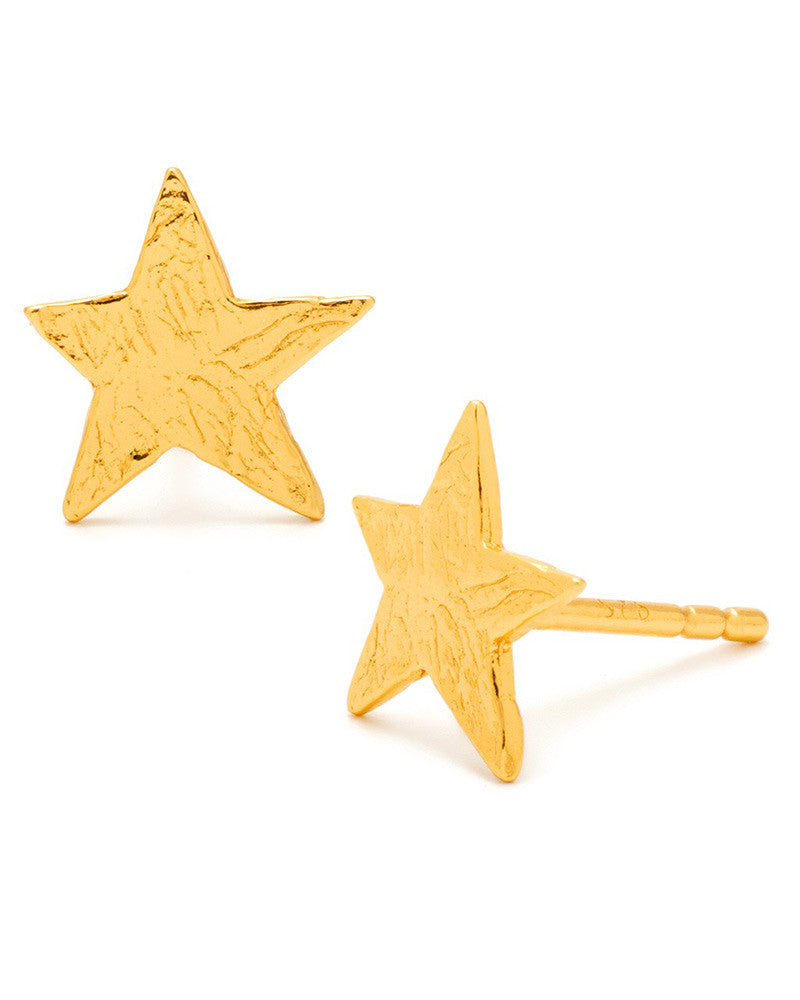 gorjana gold stud earrings