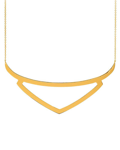 Gold Gorjana Viki Collar necklace