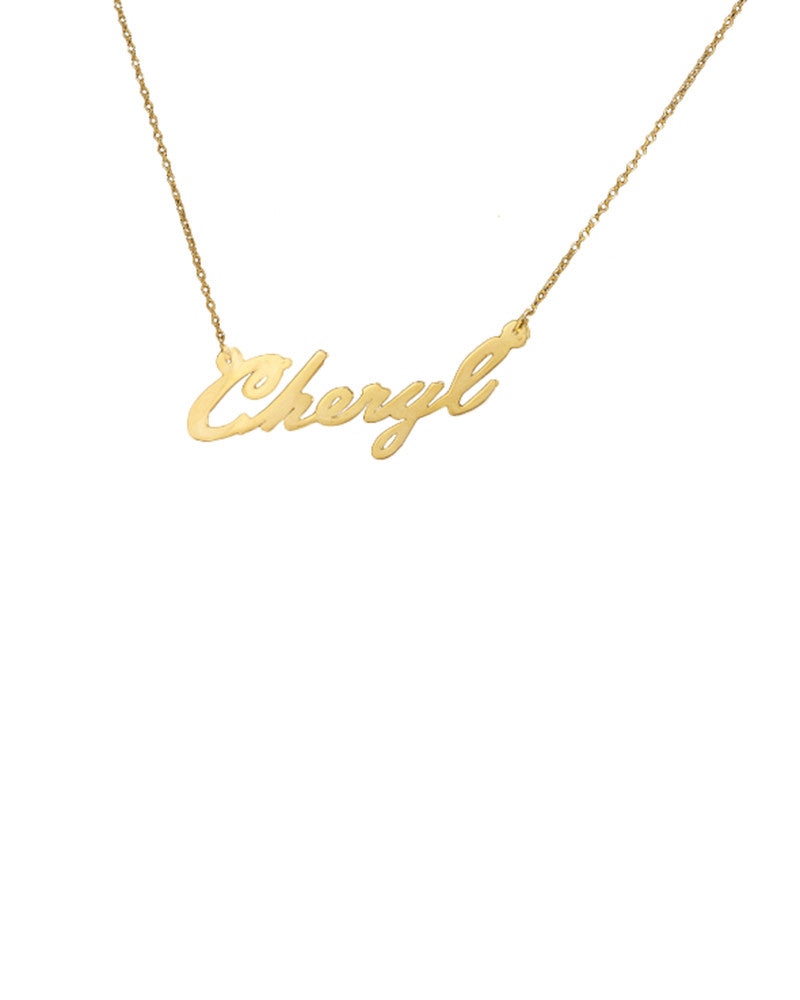 fine copy gold cursive name personalized chloe sarah necklace diamond ava script petite