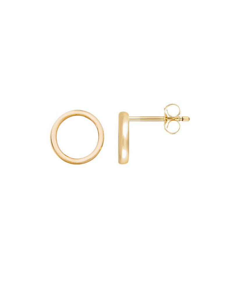 488bfc370 Jaimie Nicole | Gold Circle Stud Earrings – Online Jewelry Boutique