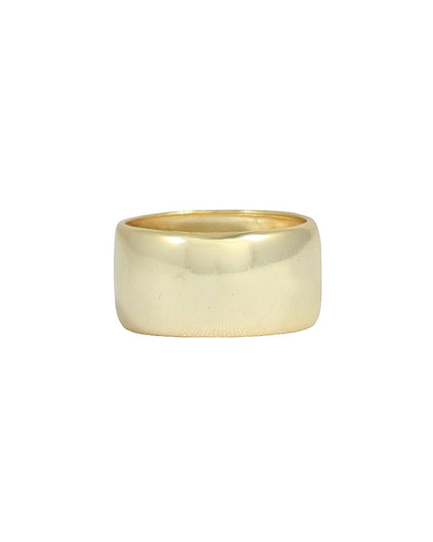 gold thick band ring designer jaimie nicole casual stylish womens jewelry