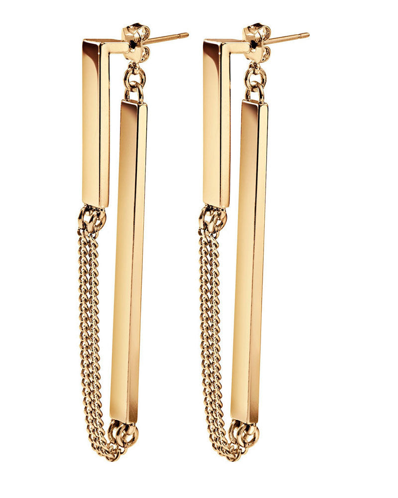 Zenith Gold Jenny Bird Drop Earrings