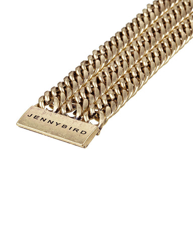 Jenny Bird Always Hustlin' Gold Bracelet Closure