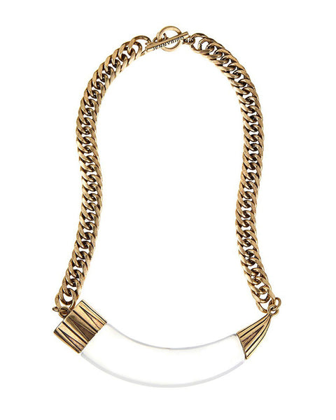 Jenny Bird Hark Horn Collar Necklace