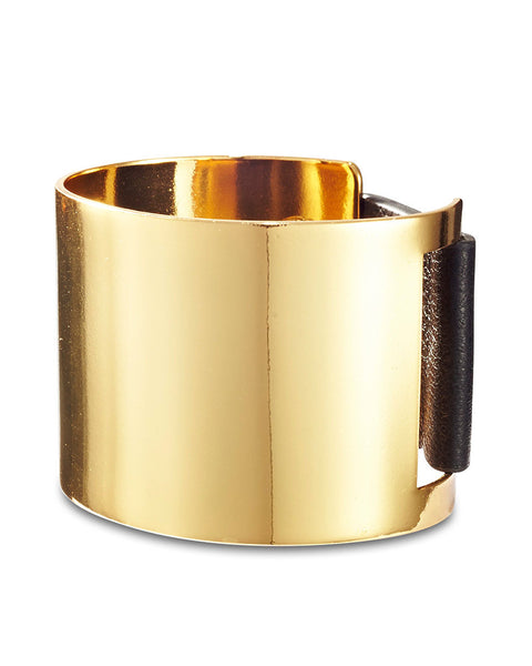 gold cuff high polish jenny bird