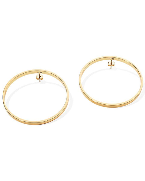 gold hoop earrings womens jewelry stylish designer jenny bird