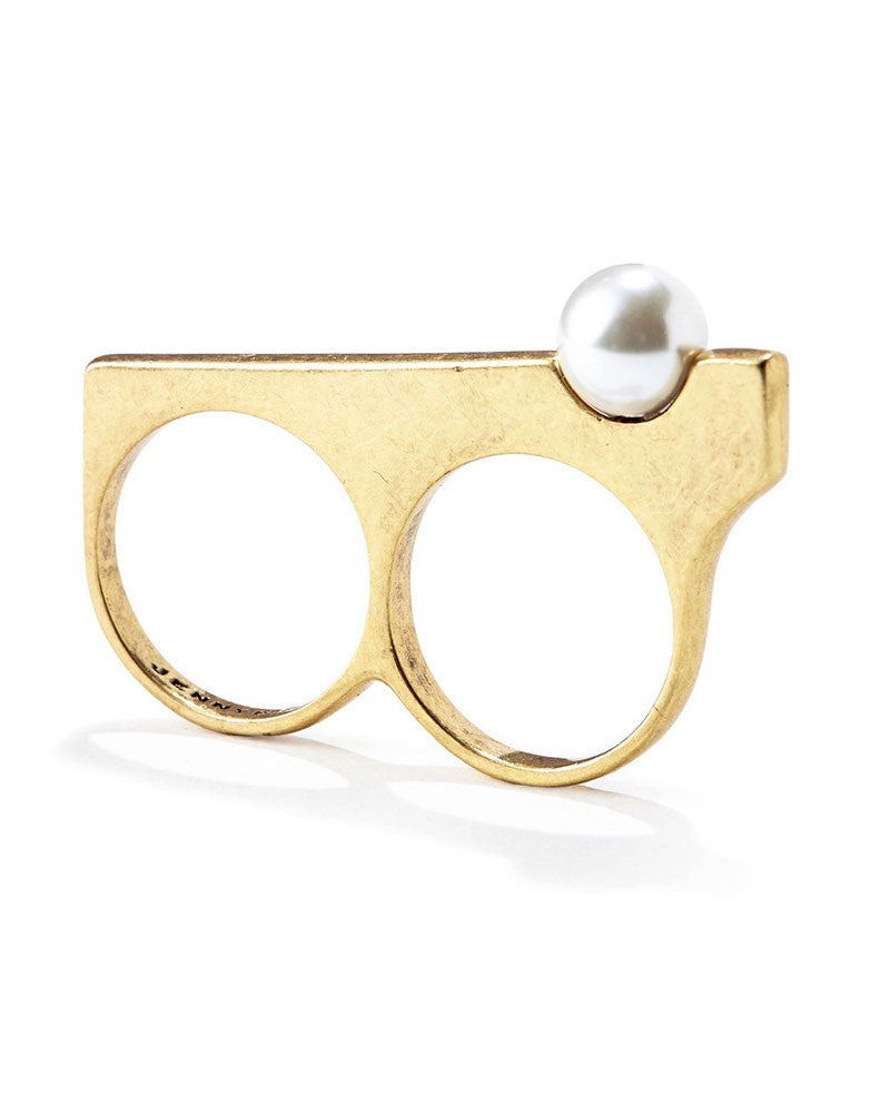 Jenny Bird Maigret Two Finger Ring