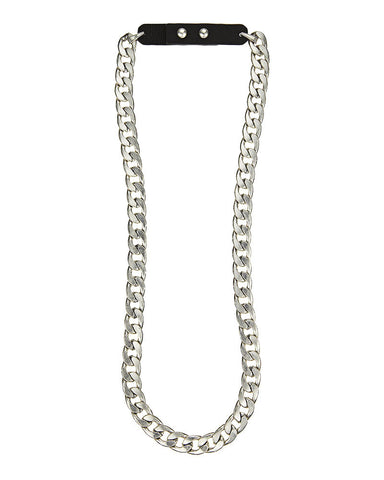 Jenny Bird Chunky Chain Necklace Silver