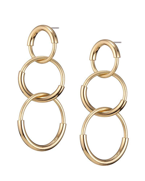 gold earrings jenny bird designer pretty stylish gorgeous trendy