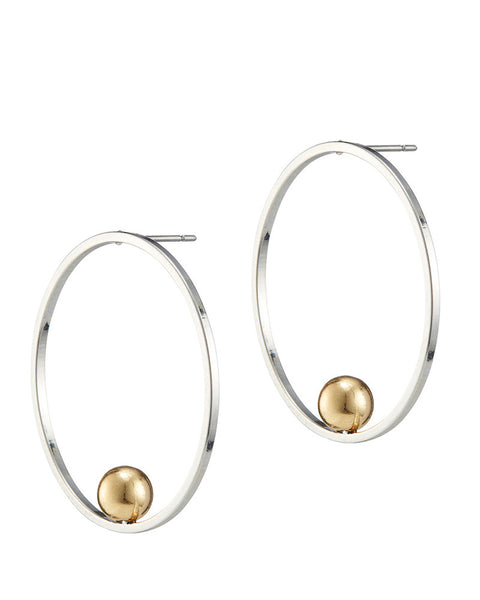 jenny bird saros earrings rhodium