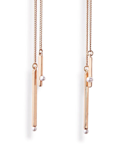 Rose Gold Jenny Bird Watson Earrings