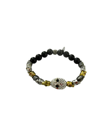 Jewels By Dunn Marching Bracelet With Skulls