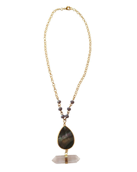 Pearl Teardrop Necklace Jewels By Dunn