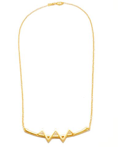Joyiia Gold Bolt Necklace