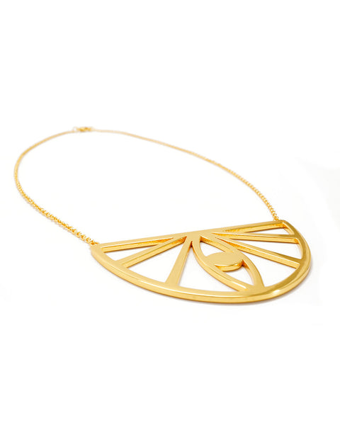 Joyiia Gold Evil Eye Necklace Full