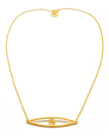 Joyiia Gold Long Eye Necklace Full