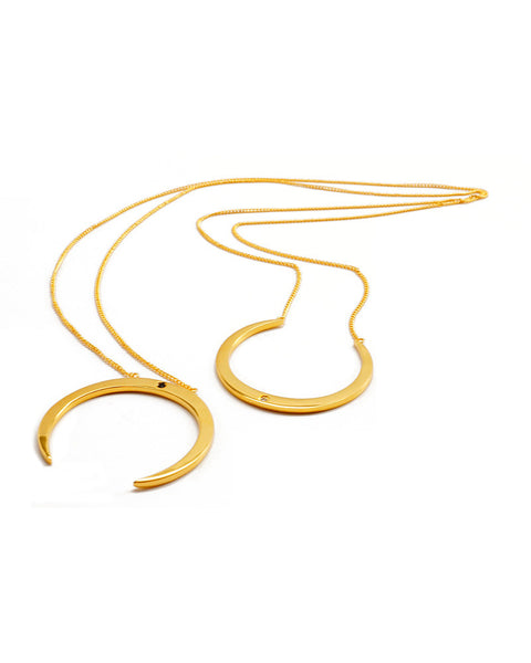 Joyiia Madre luna gold necklace wrap