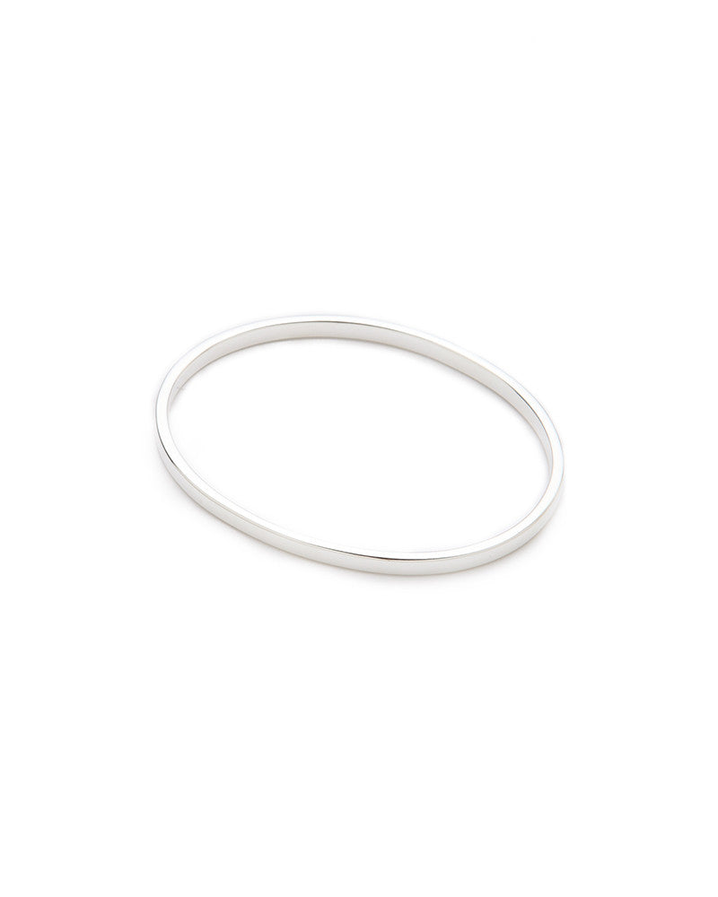 Jules Smith Boyfriend Bangle Silver