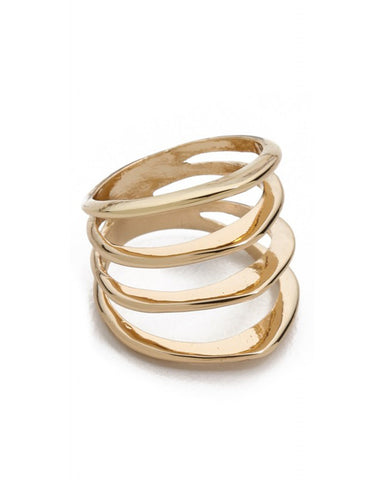 Jules Smith Cage Ring Gold