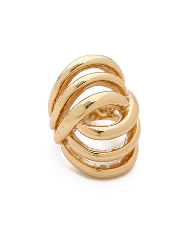 Jules Smith Deco Dome Ring Gold