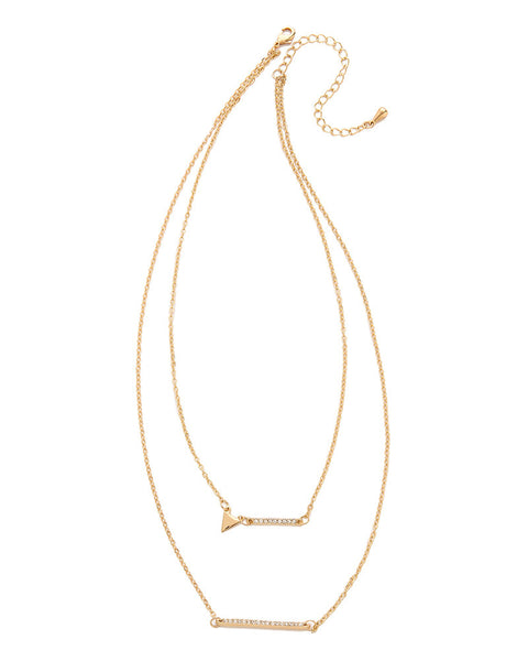 Jules Smith Geo Bling Necklace