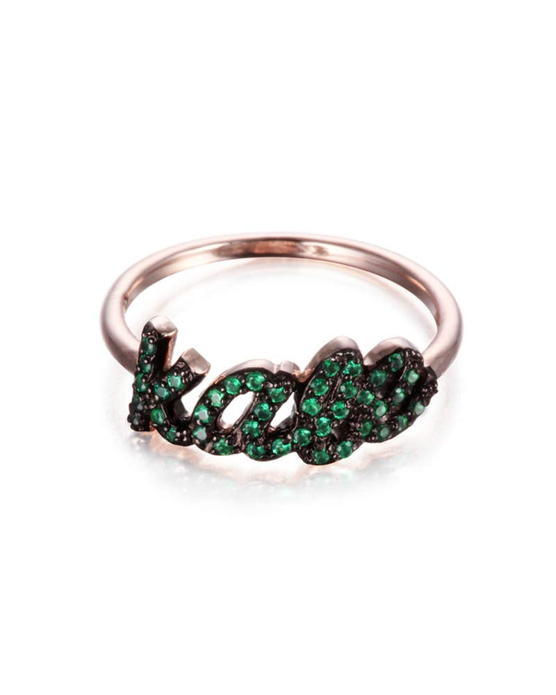 Jamie Park Kale Rose Gold Ring