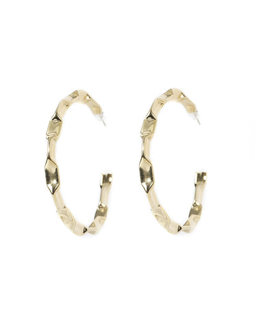 hoop earrings large round circular womens jewelry designer