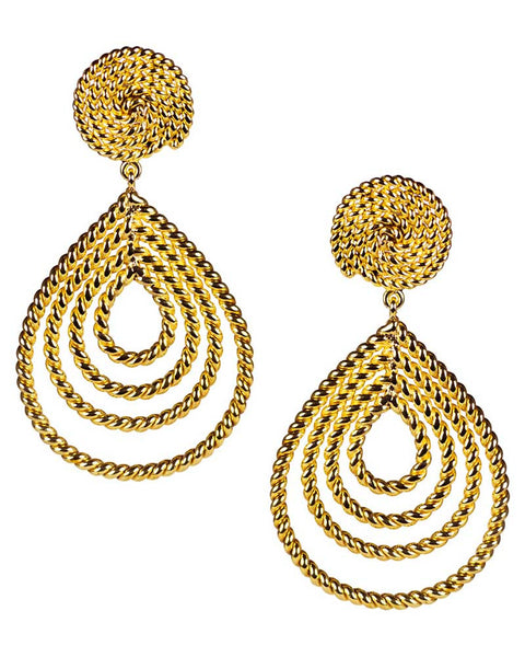 sophia gold stylish designer earrings women