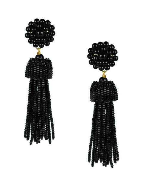 bold stylish sophisticated tassel earrings womens trendy stylish