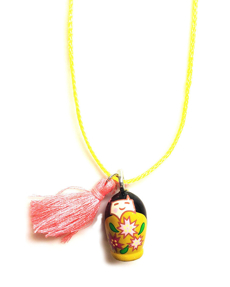 Gunner and Lux Little Laverne Stacking Doll Necklace