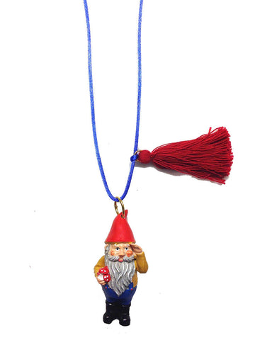 Gunner and Lux I Gordy The Gnome Necklace