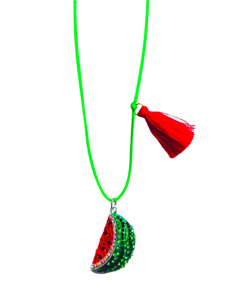 Summer Watermelon Necklace From Little Lux