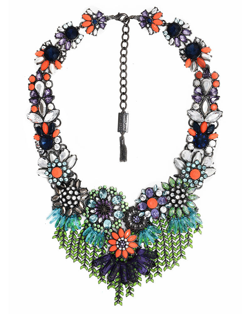Mary Jane Claverol Primavera Necklace