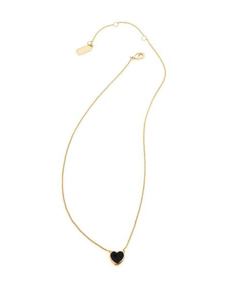 gold black designer necklace for women jewelry melanie auld