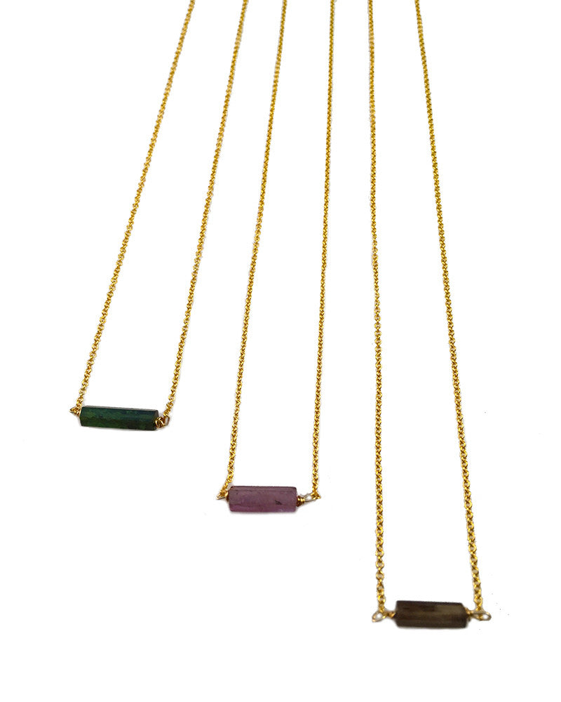 Meridian Avenue Tourmaline Necklace