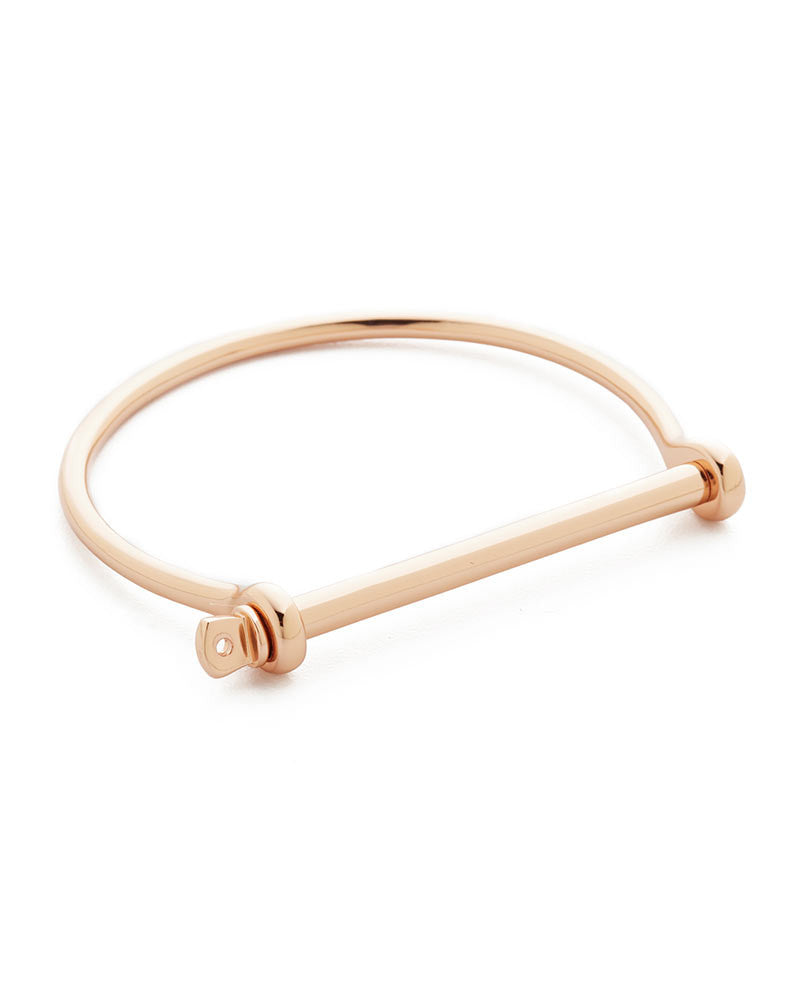 bracelet rose gold shiny thin designer womens gift miansai