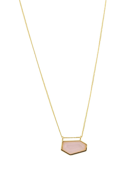 One Oak Pink Opal Necklace