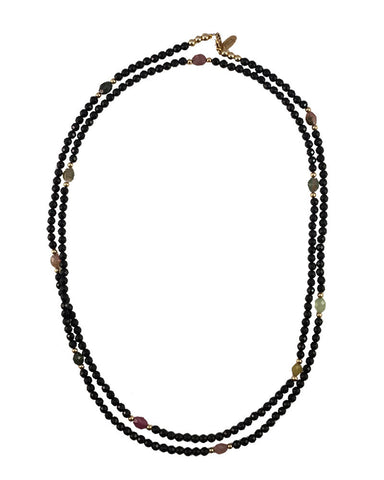 Jaimie Nicole Onyx Necklace