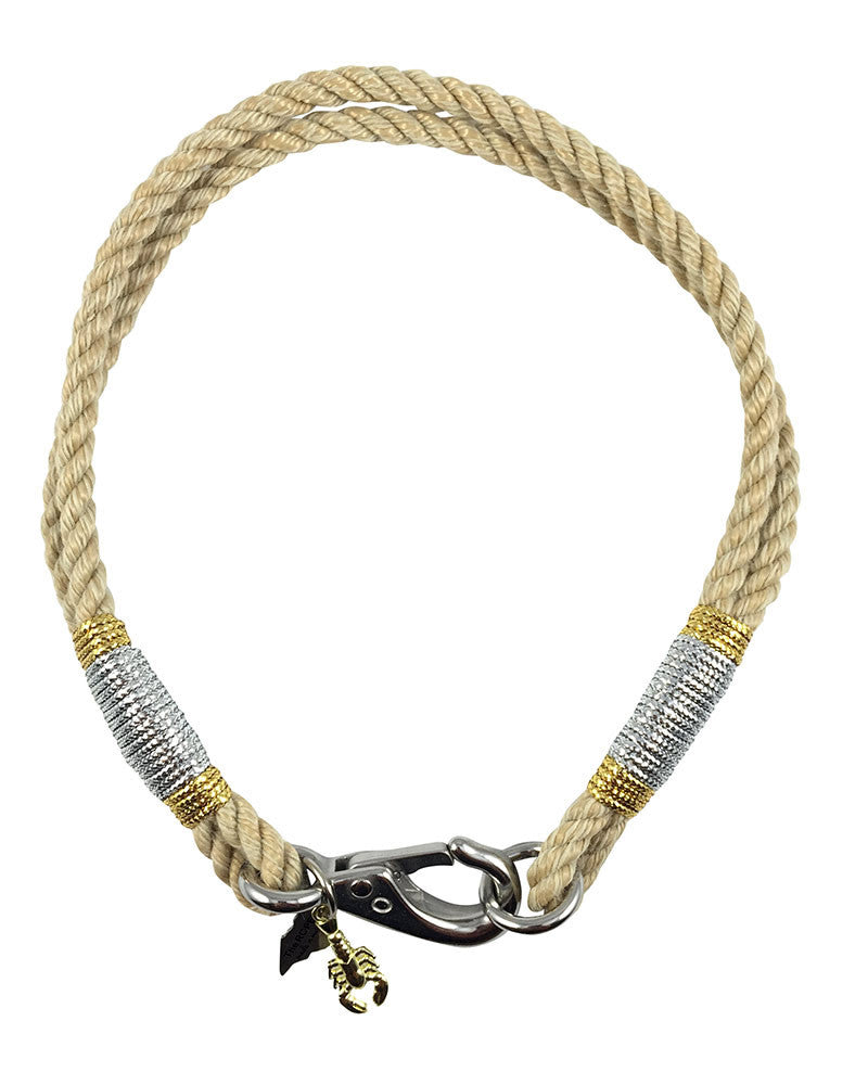 ropes natural richmond island nautical necklace