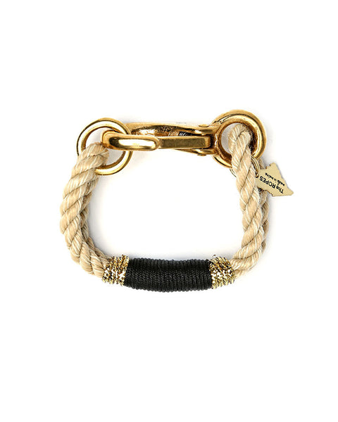 black and gold camden bracelet